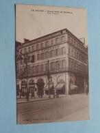 Grand Hôtel De BORDEAUX - Tout Confort ( J. Olivry) Anno 19?? ( Voir Photo ) ! - Le Havre