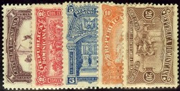 Dominican Republic. Sc #100-105. Unused. - Dominicaanse Republiek
