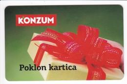 Geschenkkarte Konsum Kroatien   Gift - Gift Cards