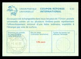 Nederland 1982 International Reply Coupon Réponse 175 Cent - Period 1980-... (Beatrix)
