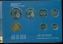 Aruba 1991 Mint Set Coins - [ 4] Colonies
