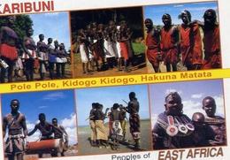 Karibuni - Pole Pole - Kidogo - Hakuna Matata - Formato Grande Non Viaggiata – E 7 - Cartoline
