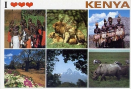 Kenya - Formato Grande Non Viaggiata – E 7 - Kenia