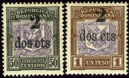 Dominican Republic. Sc #151-152. Unused. - Dominican Republic