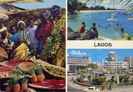 Lagos Nigeria - Formato Grande Viaggiata Mancante Di Affrancatura – E 7 - Nigeria