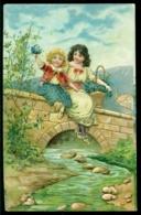 Nederland 1909 Postkaart Met Relief Van Wijdenes Naar Hoogwoud Met Zend- En Ontvangststempels - Periode 1891-1948 (Wilhelmina)