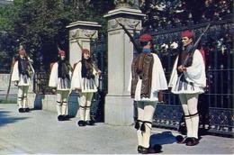 Athen - Leibgarde - Evzonen - Formato Grande Non Viaggiata – E 7 - Grecia