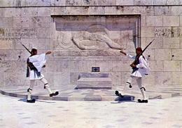 Athen - Monument Des Unbekannten - Soldaten - Formato Grande Non Viaggiata – E 7 - Grecia