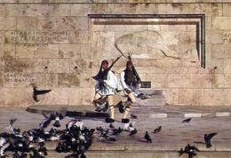 Athene - La Tomba Del Militare Ignoto - Formato Grande Non Viaggiata – E 7 - Grecia