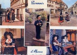 Souvenir D'alsace - Formato Grande Viaggiata – E 7 - Cartoline