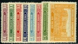 Dominican Republic. Sc #241-248. Unused Set. - Dominicaine (République)