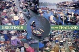 Greetings From Thailand - Formato Grande Viaggiata – E 7 - Cartoline