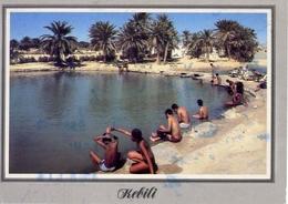 Kebili - Bain Thermal En Plehi Air - Formato Grande Viaggiata Mancante Di Affrancatura – E 7 - Cartoline