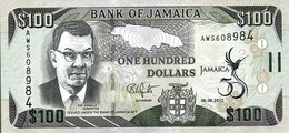 JAMAICA 100 DOLLARS 2012 P-90a UNC COMMEMORATIVE [JM245a] - Jamaica