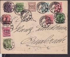 Brief Deutsches Reich Stempel Osnabrück 1923 - Deutschland