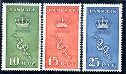 1929 DANIMARCA SET MNH ** - 1913-47 (Christian X)