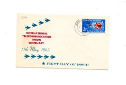 LAB226 - SOUTH AFRICA 1965 FDC  UIT - FDC