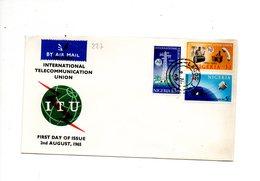 LAB227 - NIGERIA 1965 FDC  UIT - Nigeria (1961-...)