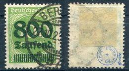 Deutsches Reich Michel-Nr. 307 Gestempelt - Geprüft - Germany