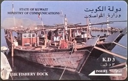 Telefonkarte Kuwait - The Fishery Docks -  21KWTA - Kuwait