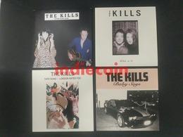 "THE KILLS Lot 4 X 45 Tours 7"" Singles MINT / MINT Condition - Rock"