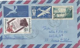 Lettre De Saint Pierre Et Miquelon Pour L'Allemagne - 19-03-1975 - St.Pierre Et Miquelon