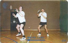 Falklands - Badminton Team, 269CFKB, 1999, 6.000ex, Used - Falkland Islands