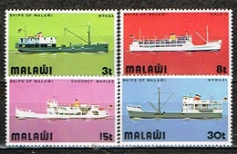 MALAWI /Neuf **/MNH**/1975 - Bâteaux Du Lac Malawi - Malawi (1964-...)