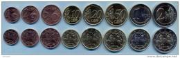 Lithuania Euro Set 2015 UNC / BU (8 Coins) - Lituania