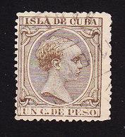 Cuba, Scott #133, Used, King Alfonso XIII, Issued 1890 - Cuba (1874-1898)