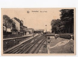 HERBESTHAL - Gare Et Poste  *censure Militaire Allemande* - Lontzen