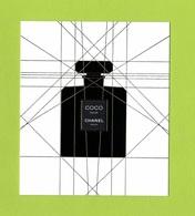 Cartes Parfumées Carte  COCO NOIR   De CHANEL - Cartes Parfumées