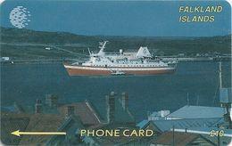 Falklands - Cruise Ship, 2CWFB, 1994, 30.000ex, Used - Falkland Islands