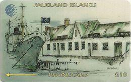 Falklands - F.I.C. Offices, 3CWFB, 1994, 20.000ex, Used - Falkland Islands