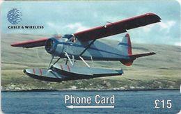 Falklands - Figas Beaver Plane De Havilland DHC2, 275CFKD, 1999, 6.000ex, Used - Falkland Islands