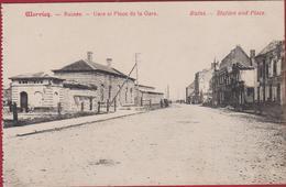 Wervik Wervicq Ruines Gare Et Place De La Gare Ruins Station And Place WWI WW1 World War 1 West-Vlaanderen - Wervik
