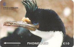 Falklands - King Cormorant, 314CFKA, 1999, 20.000ex, Used - Falkland Islands