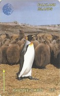 Falklands - King Penguin, 1CWFC, 1993, 15.000ex, Used - Falkland Islands