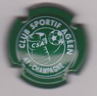 Capsule Champagne Commémo ( Nr ; CLUB SPORTIF AGEEN Vert Et Blanc ) {S35-18} - Champagne