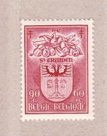 1947 Nr 757* Postfris Met Scharnier,Wapenschild Sint-Truiden. - Belgique