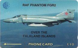 Falklands - RAF Phantom Fgr2, 4CWFA, 1995, 35.000ex, Used - Falkland Islands