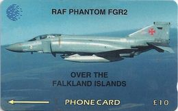 Falklands - RAF Phantom Fgr2, 4CWFA, 1995, 35.000ex, Used - Islas Malvinas