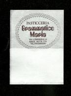 Tovagliolino Da Caffè - Caffè Grammatico - ( Trapani ) - Serviettes Publicitaires
