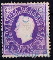Cabo Verde 1886 - Portugal - DLFD 25r - Cape Verde
