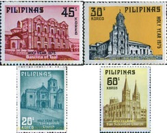 Ref. 313178 * MNH * - PHILIPPINES. 1975. HOLY YEAR . AÑO SANTO - Architecture