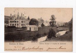 NELS Série 97 N° 17  -  Environs De THEUX - Château Ritwéger Et Chapelle De Juslenville - Theux