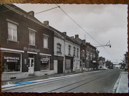 BELG - ANDERLUES - Rue Paul Janson. (Imprimerie Samain) CPSM - Anderlues