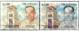 Ref. 313381 * MNH * - PHILIPPINES. 1987. 35 ANIVERSARIO DEL LICEO DE FILIPINAS - Célébrités