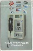 Falklands - Chorley Test Card 1000U SN.484 XXX, 100ex, Used - Falkland Islands