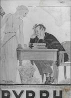 """PUB  """"BYRRH"""" .  24 X 32 CM . Carton Fort + Histoire D'un Prince Charmant .12 Pages  . 1930 . - Sonstige"""